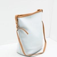 Berrybenka Yivena Febitha Classic Shoulder Handbags Light Blue