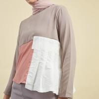 Harga hijabenka mercilla jules top grey pink | antitipu.com