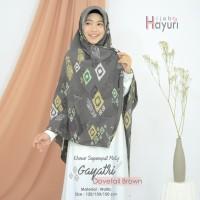 Segiempat/ Hijab / Khimar Motif Gayatri (120cm)