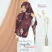 Segiempat/ Hijab / Khimar Motif Gayatri (130cm)