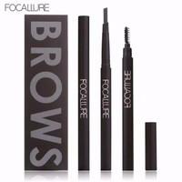 FOCALLURE Eyebrow Pencil FA18 Pensil Alis Anti Air