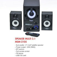 Promo New Speaker Bluetooth Minami MSM 2105 usb
