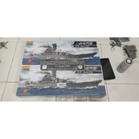 Model kit 1/700 IJN Yamato motorized