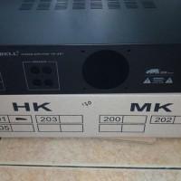 box power amplifier ampli bell hk 201 hk-201 hk - 201 hk201