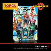 Mainan Action Figure Power Ranger 2818 set isi 5 MURAH BANGET
