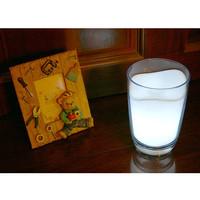 Lampu LED Gelas Susu Lampu Terang Lampu Pajangan Unik Lampu Malam Lucu
