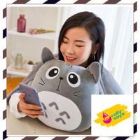 Boneka selimut bantal balmut hadiah kado karakter kucing totoro lucu