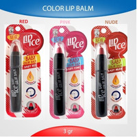 Lip Ice Baby Color RED / PINK / NUDE