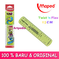 Maped Twist n Flex The Original Unbreakable Flexible Ruler 15cm