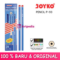 Pensil Joyko P-93 2B Biru / Pencil For Computer / Pensil Joyko
