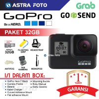 GoPro Hero 7 Black Edition Paket Dahsyat / Go Pro 4k Wifi Action Cam