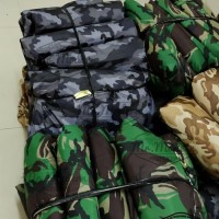 Mantel body cover mobil motif army warna hijau, coklat, biru Murah