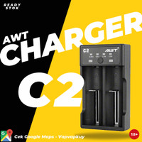 AWT C2 Charger Dual Slot Fast Charging 2A Authentic