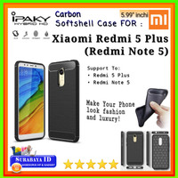 Casing SoftCase iPaky Xiaomi Redmi 5 Plus (Redmi Note 5) 5.99inchi