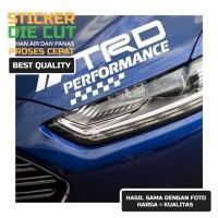 STICKER TRD TOYOTA RACING PERFOMANCE CAR STICKER TOYOTA