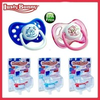 LustyBunny Silicone Pacifier Dot Bayi Empeng Orthodic