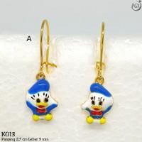 K013 Anting Anak Xuping Yaxiya - Perhiasan Lapis Emas 18K