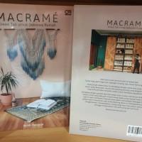 Buku Macrame Kreasi Tali Untuk Dekorasi Rumah by Agnes Hansella