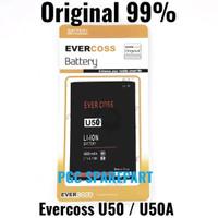Baterai Original 99% Evercoss U50 - U50A -Cross Evercross Batre Batere