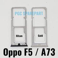 Original Simtray Oppo F5 Oppo A73 Tempat Simcard Simlock Sim Lock card