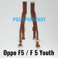 Ori Flexible Connector Charger Oppo F5 - F5 Youth Fleksibel Konektor