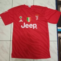 Kaos Baju Bola Jersey juve merah new edition