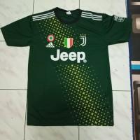 Kaos Baju Bola Jersey juve hijau 2019