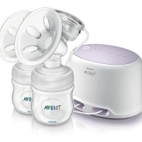 Grosir AVENT SCF334/02 Breast Pump Natural PP Twin Electric - Complete