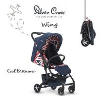 Grosir Sweetmomshop Silver Cross Wing Stroller