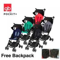 Grosir Stroller GB Pockit   Y 2018 free backpack