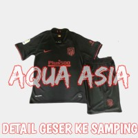 JERSEY 1 SET CELANA FULL SET ATLETICO MADRID AWAY 2019 2020 IMPORT