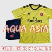 JERSEY 1 SET CELANA FULL SET ARSENAL AWAY 2019 2020 IMPORT