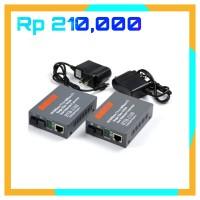 1 pair 100 mbps fiber optik media converter optic rj45