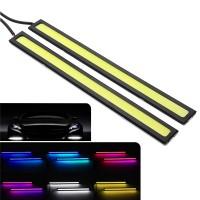17cm COB LED Daytime Running Strip Light DRL Car Driving