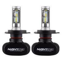NightEye S1 Car LED Headlights Bulbs Front Fog Lamps H4 H7