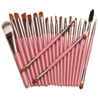 20pcs Makeup Brushes Set Kit Blush Foundation Liquid