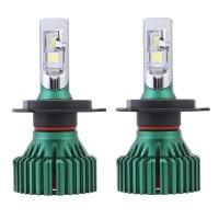NovSight A384-N8 LED Car Headlights Bulbs 60W 16000LM H4 H7