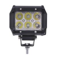 4Inch 18W LED Work Light Bar Spot Beam Driving Lamp 12V