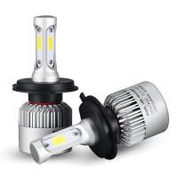 72W 8000LM COB LED Car Headlights Bulbs Fog Lamps H4 H7 H11