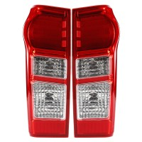 Car LED Tail Light Brake Lamp Red Shell with Bulb