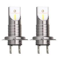 2Pcs H7 55W 26000LM 6000K Car LED Headlights Bulb White Fog