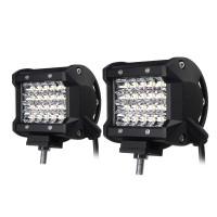 4Inch LED Work Light Bar Spot Beam Fog Lamp 10-30V 72W