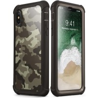 Case iPhone X/XS i-BLASON Ares Camo Case with Screen Original - Desert