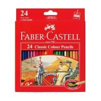 Faber castell Pensil 24 warna