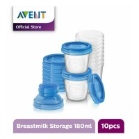 Avent Breast Milk Storage Cups / Tempat Asi / Botol / Wadah Asi 180 ml