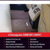 Karpet comfort Deluxe All New Fortuner Vrz 2016 2 Baris
