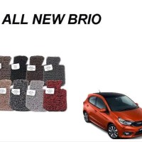 Karpet Comfort Deluxe Khusus Honda all new Brio 2018 2 baris plus ba