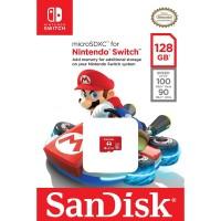 SanDisk MicroSDXC 128GB 100MB/s Class 10 - Super Mario Edition