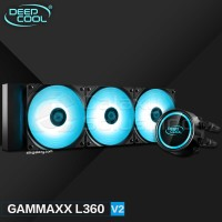 CPU Cooler DeepCool GAMMAXX L360 V2 RGB Liquid Cooler