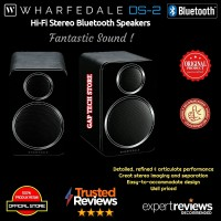 Wharfedale DS-2 / DS2 / DS 2 Hi-Fi Stereo Bluetooth Speakers Original